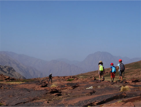 Atlas Mountains Family Trek